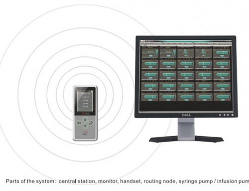 Sistema de monitoreo de infusión